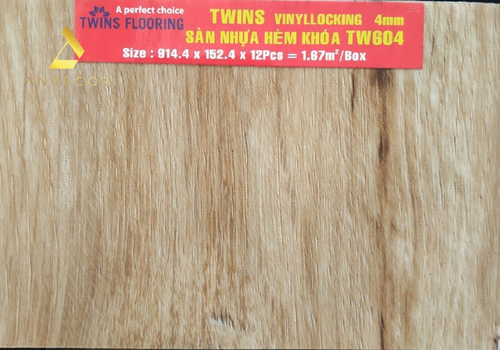 Twins Flooring TW604 - 4mm