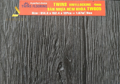 Twins Flooring TW605 - 4mm