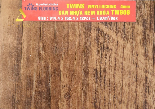 Twins Flooring TW606 - 4mm