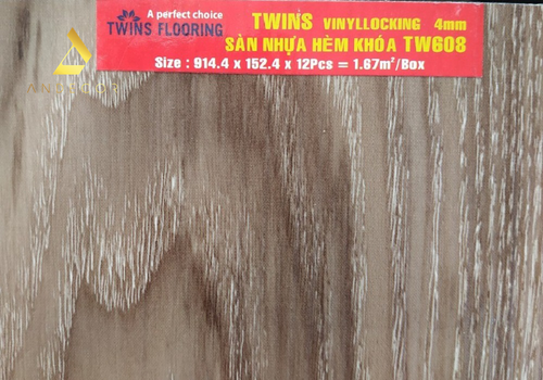 Twins Flooring TW608 - 4mm